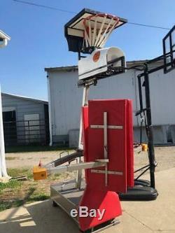 The Dominator Basketball Post Station Shooting Machine Shoot Away