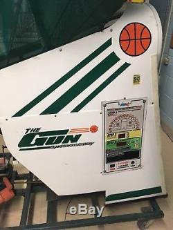 The Gun Basketball Shooting Machine By Shoot-A-Way 8000 Model