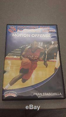 The Motion Offense Fran Fraschilla (Coaching basketball DVD)