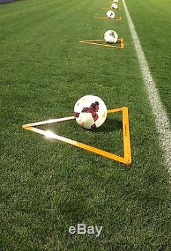 The Training Triangle with Carrying Bag Soccer Football Basketball Sports (set 9)