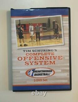 Tim Schuring's Complete Offensive System Basketball Coaching 5 DVD Set