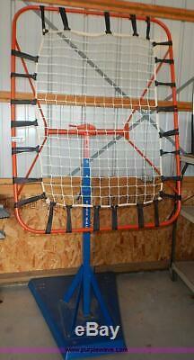 Toss Back Varsity basketball training aid Gared passing assist rebound baseball