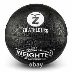 Weighted Basketball Workout Included on The 3lb Heavy Basketball for