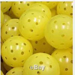 Yellow Pickle Balls! 4 Dozen (48)! Never Used! Endorsed! Original Dura Fast 40