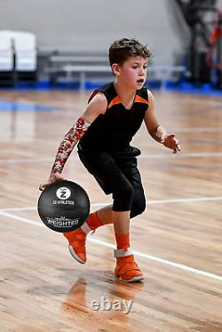 ZO ATHLETICS Weighted Basketball with Workout on The Heavy Basketball for Traini